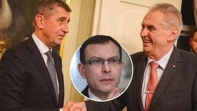 Podle ústavního právníka Jana Kysely čte premiér Babiš ústavu absurdně a Zeman ji minimálně šest týdnů hrubě a vědomě porušuje.
