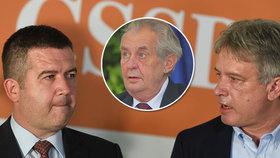 Zeman ustoupí, nebo uhne ČSSD? 5 scénářů, jak dopadne vládní krize