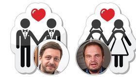 Vít Rakušan (STAN) i Michal Šmarda (ČSSD) připojili svůj podpis na petici iniciativy Jsme fér, které chtějí co nejrychleji zlegalizovat sňatky homosexuálů