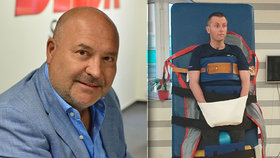 Ochrnutému Zdeňkovi a jeho dceři Evičce se rozhodl pomoci i zpěvák Michal David.