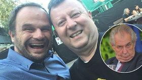Michal Šmarda a Antonín Staněk (oba ČSSD): Vysmáté selfie z Colours of Ostrava. A vzkaz Zemanovi