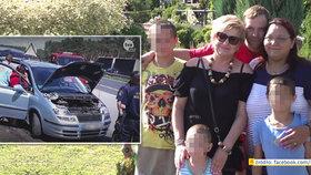 České rodině se v Polsku rozbilo auto. Na pomoc čekali tři dny u silnice