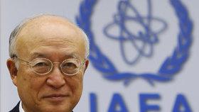 Zesnulý šéf Mezinárodní agentury pro atomovou energii (MAAE) Jukija Amano