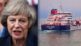 Británie vyzvala Írán k okamžitému propuštění zadrženého tankeru.