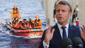 Emmanuel Macron o přerozdělování uprchlíků v rámci francouzsko-německého dokumentu