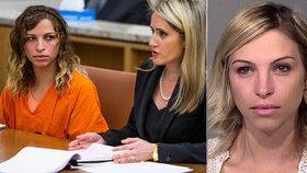 Brittany Zamorová dostala za sex s žákem 20 let vězení