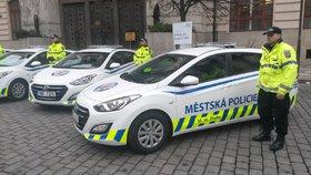 Městská policie Praha.