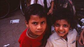 Děti v Indii (ilustrační foto)