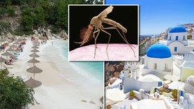 Čeští turisté, pozor! Západonilská horečka hrozí i v Řecku.