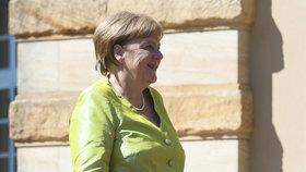 Německá kancléřka Angela Merkelová si užívala na festivalu Richarda Wagnera bez manžela (25. 7. 2019)