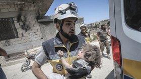 Nálet v Idlibu