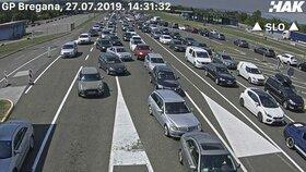 Kolony na chorvatských hranicích: Bregana (27.7.2019)