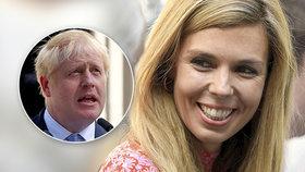 Carrie Symondsová, partnerka premiéra Borise Johnsona.