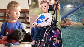 Adam zůstane do konce života na vozíčku