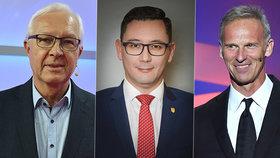 Drahoš tvrdí, že jeho kandidatura v prezidentské volbě je ve hře. Ovčáček vyvolal spekulace, Hašek taktéž