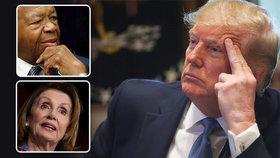 Americký republikánský prezident Donald Trump se ohradil proti tomu, že je podle demokratické šéfky Sněmovny reprezentantů Nancy Pelosiové rasista.Spor mezi prezidentem a demokraty se týká černošského kongresmana Elijaha Cummingse.