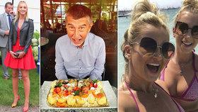 Andrej Babiš oslavil s rodinou 19. narozeniny dcery Vivien, výročí svatby s Monikou a společně vyrazí na Krétu