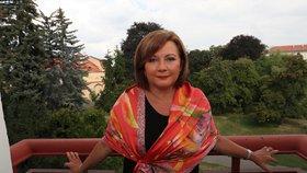Ministryně financí Alena Schillerová při rozhovoru pro Blesk (30. 7. 2019)
