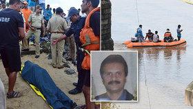 Majitele celosvětového řetězce kaváren našli utopeného v řece.