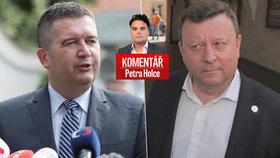 Petr Holec komentuje aktuální situaci kolem vládní krize.