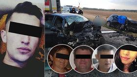 Honza způsobil zdrogovaný autonehodu, při které zemřeli 4 lidé.