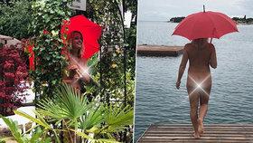 Manželka jabloneckého primátora se vystavila na dovolené.