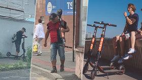 V Bratislavě se ve velkém kradou elektrické koloběžky. Zmizela polovina z nich.