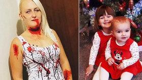 Portonová zavraždila dcerky kvůli sexu: Vraždy plánovala, na pohřbu se smála, tvrdí její matka.