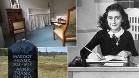 Tragédie židovské dívenky Anny Frankové: Přišlo si pro ni gestapo.