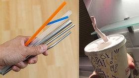 Probíhají pře o materiál, ze kterých mají být brčka. McDonald's to schytal za papírová, ale nemá příliš jiných možností.