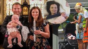 Pár dní po nehodě a necelých pět měsíců po narození nechala středočeská hejtmanka Jaroslava Pokorná Jermanová s manželem Jakubem Pokorným pokřtít svou dceru Emu. (6. 8. 2019)