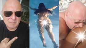 Miloš Kant zveřejnil několik fotek, které podle všeho měli zůstat zrakům fanoušků skryté