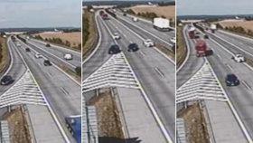 Policie ukončila vyšetřování nehody na dálnici D11: chybovaly obě řidičky, hrozí jim zákaz řízení