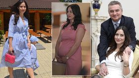 Radost v rodině kancléře Mynáře: S Alex mají druhého chlapečka