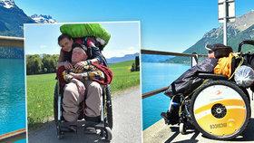 Český vozíčkář zemřel vyčerpáním při cestě do Španělska. Urazil tisíce kilometrů, svou cestu ale nestihl dokončit.