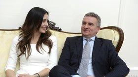 Manželé Alex a Vratislav Mynářovi
