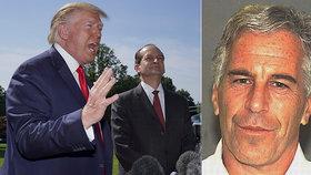Trump nechce věřit smrti kamaráda Epsteina: Je to šokující!