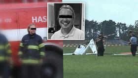 V kluzáku u Havlíčkova Brodu vyhasl život Jardy: Zapálený letec i respektovaný hasič.