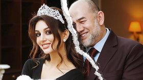 Ruska Oksana Vojevodinová popírá zprávy o rozvodu s malajsijským králem.