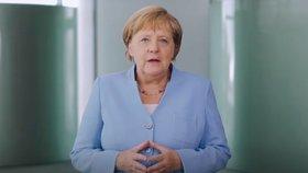 Německá kancléřka Angela Merkelová ve videu se vzpomínkou na rok 1989 (17. 8. 2019)