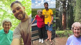 Američan Brad Ryan si spolu se svou babičkou Joy (89) vytyčil úkol navštívit všech 61 národních parků Spojených států