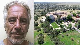 """Epstein chtěl na svém ranči v Novém Mexiku vybudovat lidskou """"farmu"""""""