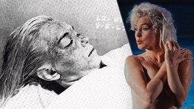 Fotograf po smrti Marilyn Monroe nafotil její nahé tělo v márnici
