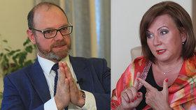 Ministr školství Plaga vyrazil za ministryní financí Schillerovou se svými rozpočtovými požadavky