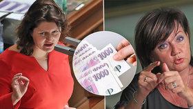 Ministryně Jana Maláčová (ČSSD) chce pro svůj resort o 11 miliard navíc. Jak dopadne přestřelka s ministryní financí Alenou Schillerovou?