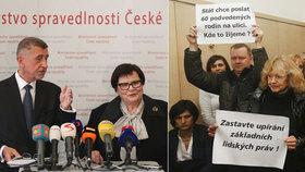 Ministryně spravedlnosti Marie Benešová chce s premiérem Andrejem Babišem (ANO) jednat o odškodnění části klientů H-Systemu.