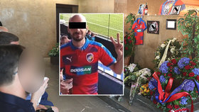 Poslední rozloučení s fotbalovým fanouškem Vítem K. proběhlo v Kutné Hoře.