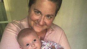 Jen Curranová (38) říká, že jí dcerka zachránila život.