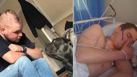 Dojemná zvířecí láska: Pejsek zemřel jen 15 minut po svém majiteli.
