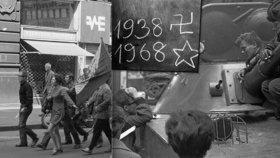 V noci z 20. na 21. srpna 1968 obsadila Československo okupační vojska.